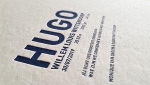 Letterpress Hugo