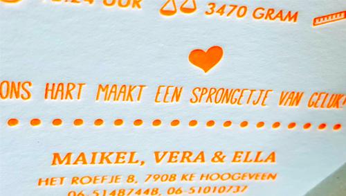 Letterpress Maikel