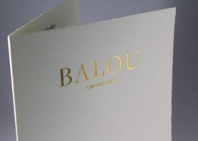 Balou geboortekaart