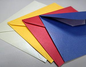 Metallic enveloppen