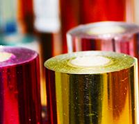 Foliedruk rollen metallic kleuren